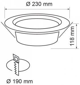 CORP-DE-ILUMINAT-LED-DOWNLIGHT-LOW-GLARE-2