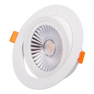 LAMPA LED DOWNLIGHT INCASTRABILA SI DIRECTIONABILA