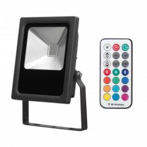 PROIECTOR LED SLIM DIMABIL, RGB RF, ULTRALUX